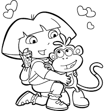 thanksgiving coloring books dora the explorer thanksgiving coloring pages 2 olegandreev me