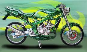 Airbrush Trend Modificatio Kawasaki Nunja