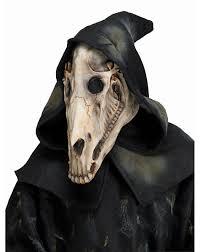halloween costume mask hooded horse skull mask u2013 spirit halloween evil pins pinterest