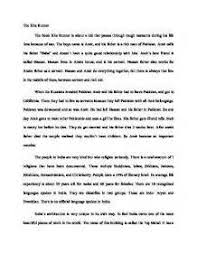 Kite Runner Theme Essay Redemption Essay for