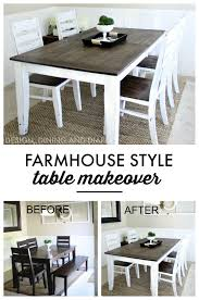 Dining Room Table Pictures Farmhouse Table Makeover Learning Farmhouse Table And Kitchens