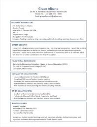Teacher Responsibilities Resume  cv for teacher  montessori resume