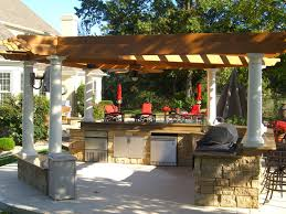 Outdoor Patio With Roof by Make Your House Be Nice With Pergola Designs