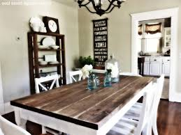 Farm Style Wood Dining Table With Well Inspirations And Kitchen - Farmhouse kitchen tables