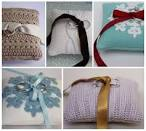 The Finer Things: Ring Pillows for a Winter Wedding