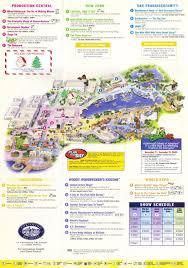 Orlando Universal Studios Map by Universal Studios Florida Guidemaps 2000 1991 Page 3