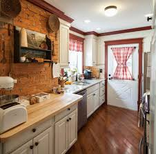 Red White And Black Kitchen Ideas White Cabinets And Toaster Dark Wood Flooring Undermount Sink Red