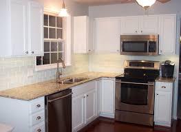 Kitchen Backsplash Options The Kitchen Backsplash Ideas For White Cabinets Home Design And