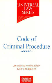 code of criminal procedure universal law series buy code of