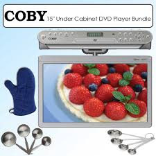 coby ktfdvd1560 15 inch widescreen tft under the cabinet dvd cd