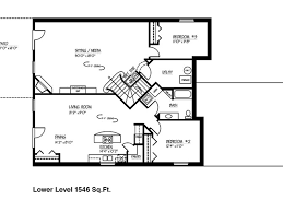 Executive Ranch Floor Plans House Floor Plans With Basement Joshua And Tammy