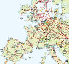 Show Map Of Europe by Europe Pipelines Map Crude Oil Petroleum Pipelines Natural
