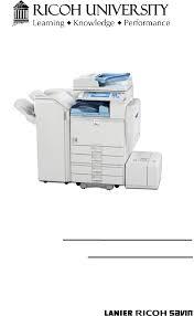 manual de partes aficio mp4000 5000 documents