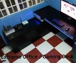 Gameing Desk by Extreme Office Gaming Desk 8 Steps With Pictures