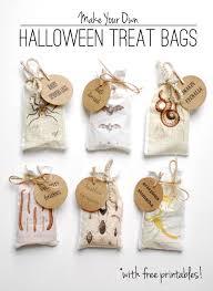 Printable Halloween Bags Diy Halloween Treat Bags U2013 With Free Printables Diy Pinterest