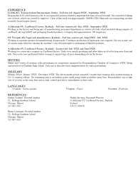 Resume Sample Format For Seaman by Creative Writing Resume Samples
