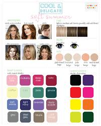 Best Hair Colors For Cool Skin Tones Color Analysis 3 Degrees Of Cool U0026 Delicate