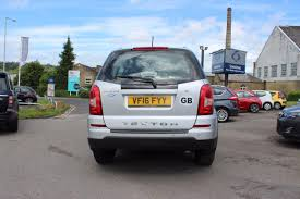 used 2016 ssangyong rexton w 2 2 se 5dr side steps bluetooth