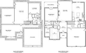 mesmerizing house plans with basement 2 bedroom walkout basement