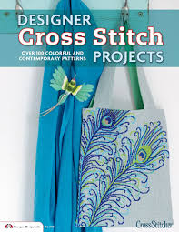 designer cross stitch projects over 100 colorful and contemporary