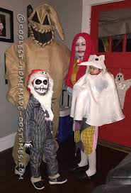 Funny Family Halloween Costumes by Family Nightmare Before Christmas Theme Baby Zero Costume