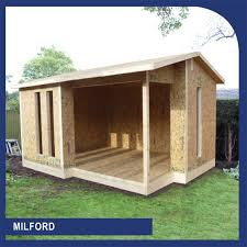 Sips Cabin Sip Garden Building And Annex Flat Pack Kits