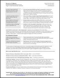 Sample Manufacturing Resume sample manufacturing resume
