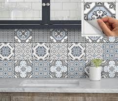Tile Kitchen Backsplash by Best 20 Vinyl Backsplash Ideas On Pinterest Vinyl Tile