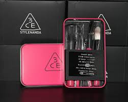 makeup set iron box case korea brand stylenanda 3ce makeup
