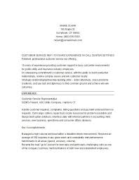 Customer Services Resume Sample by Resume Templates Customer Service