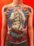 mark lonsdale tattoo bondi sydney full frontal ship | mark lonsdale