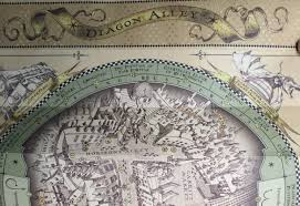 Orlando Universal Studios Map by Universal Studios Diagon Alley Wand Map Section 1 Tourist Meets