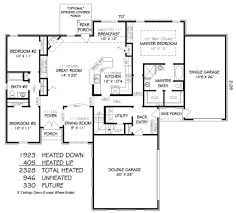 european style house plan 3 beds 2 00 baths 2328 sq ft plan 424 255