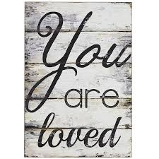 you are loved wall decor pier 1 imports