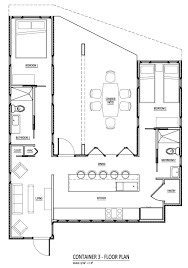 shipping container house floor plan cargo container home plans 17