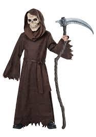 Kids Skeleton Halloween Costumes Child Ancient Reaper Costume