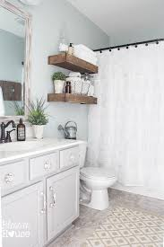 Budget Bathroom Ideas Modern Farmhouse Bathroom Makeover Reveal