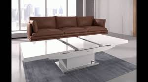 elgin coffee table that also converts to a dining table in w youtube