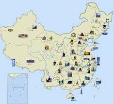 China Topographic Map by Detailed Tourist Map Of China China Maps Pinterest China