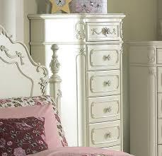 White Bedroom Collections Homelegance Cinderella 5 Piece Kids U0027 Poster Bedroom Set In White