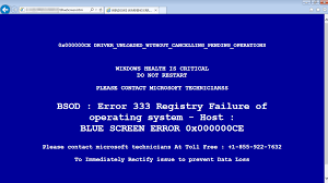 techsupportscams and the blue screen of death malwarebytes labs