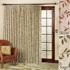 modren sliding glass door curtains modern insulated blackout or