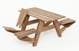 stylish basic picnic table stylish wooden picnic tables for