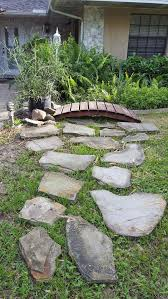 landscaping small medium and large river rocks flagstone and