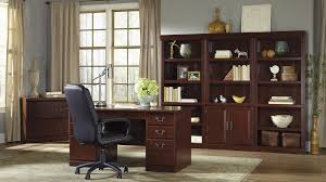 Sauder Black Bookcase by Heritage Hill Collection File Cabinet Home Office Desk With