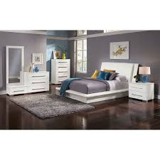 Dimora Piece King Upholstered Bedroom Set White Value City - 7 piece king bedroom furniture sets