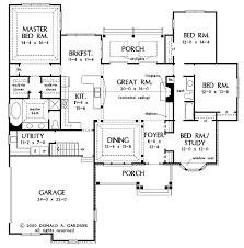 2000 Sq Ft Bungalow Floor Plans One Story Open Floor Plans With 4 Bedrooms Generous One Story