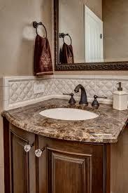 Small Powder Room Wallpaper Ideas Bathroom Comely Bathroom Decorating Ideas Using Green Brown