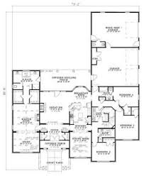 2800 Square Foot House Plans Floor Plan For A 28 X 36 Cape Cod House House Plans