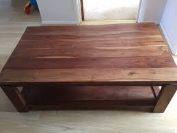 john lewis large coffee table solid acacia wood in southsea